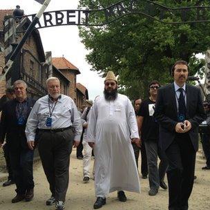 Muslim leaders visit Auschwitz