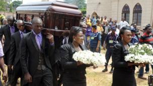 Funeral of Chinua Achebe in Ogidi, Nigeria, 23 May