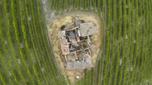 A year after the earthquake in Italy's Emilia Romagna this house, built in 1562, awaits restoration