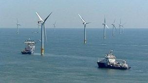 Great Gabbard windfarm