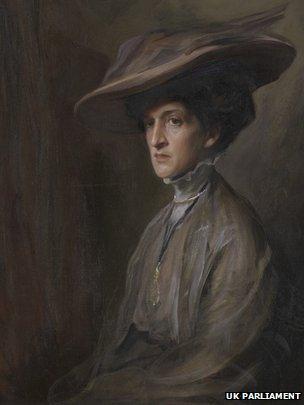Potrait of Margot Asquith by Philip de Laszlo