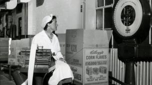 Worker at the plant