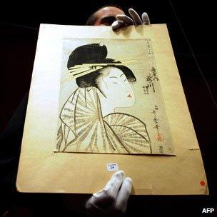 Print by Kitagawa Utamaro