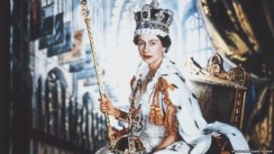 Coronation portrait of HM Queen Elizabeth II, 1953, Cecil Beaton