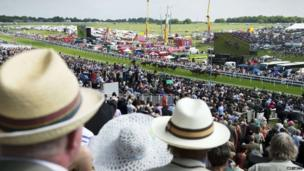Ladies' Day at Epsom Derby