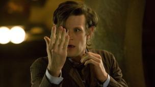Matt Smith's Doctor after regenerating