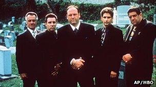 The Sopranos is voted best written TV series - BBC News