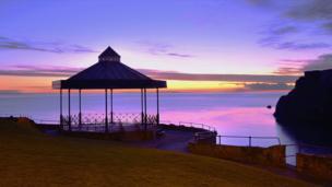 Tenby bandstand