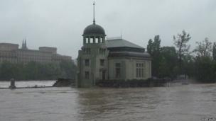 Prague floods: Roger Allen