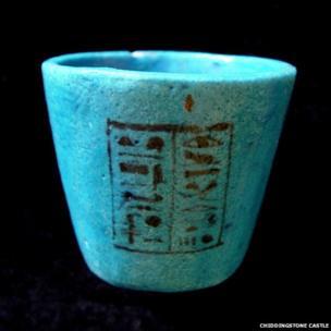 Nesi-Khonsu faience cup