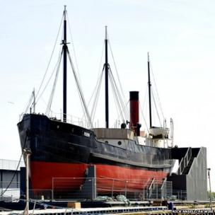 A view of SS Robin
