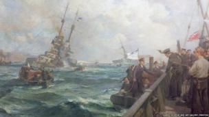 Scapa Flow, June 21st, 1919