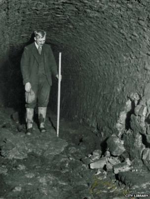 Victoria Tunnel 1939