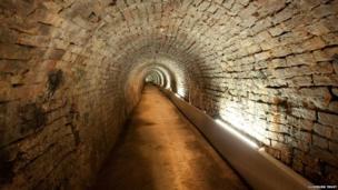 The Victoria Tunnel