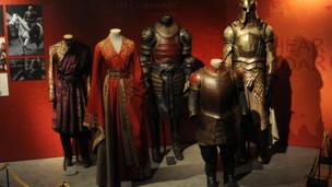 The costumes made in Belfast for Game of thrones were lovingly created in minute detail and then muddied and scuffed to make them look used.