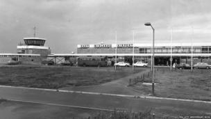 East Midlands Airport, 1965