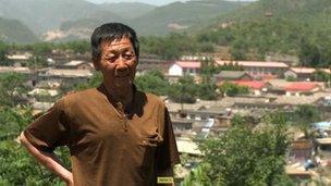 Chinese farmer Wang Yongxian