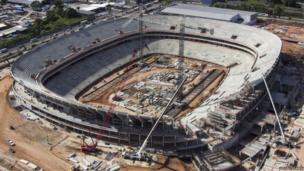 Arena da Amazonia, (Vivaldo Lima Stadium), Manaus