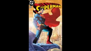 Superman comic cover 2004