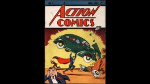 An original copy of Action Comics No 1