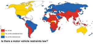Seatbelt legislation