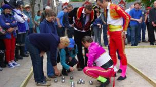 Boules competition