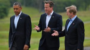 Obama, Cameron and Kenny