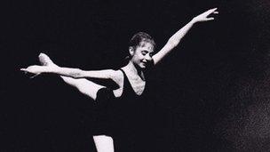 Rachel Parker at Atlanta Ballet aged 19