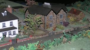 Magor model village cottages