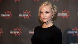 Joanna Vanderham, star of TV shows Dancing on the Edge and The Paradise, was in Edinburgh for the European premiere of What Maisie Knew, a contemporary adaptation of a Henry James novel about a parental split