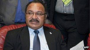 File photo: Papua New Guinea's Prime Minister Peter O'Neill