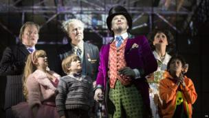 Cast of Charlie and the Chocolate Factory