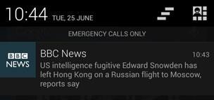 Push notifications for the BBC News app - BBC News
