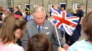 It is the second day of engagements for Prince Charles and the Duchess of Cornwall