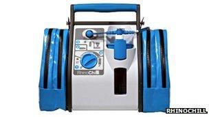 RhinoChill cooling system