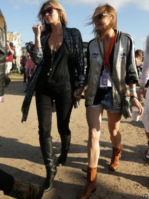 Kate Moss and Stella McCartney