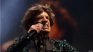 Sir Mick Jagger at Glastonbury