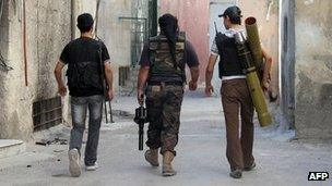 Syrian opposition fighters (22 June 2013)