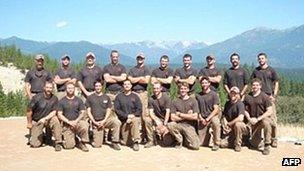 Prescott Granite Mountain hotshot crew