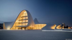 The Heydar Aliyev Centre in Azerbaijan