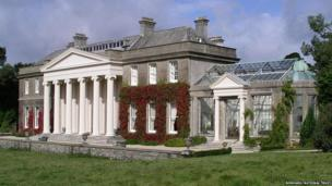 Trelissick House. Pic: Bonhams/National Trust