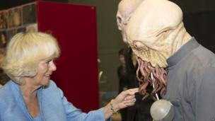 The Duchess of Cornwall meets an Ood