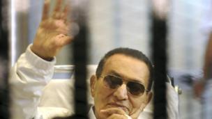 Hosni Mubarak, former President of Egypt.