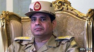 General Abd al-Fattah al-Sisi (22 May 2013)