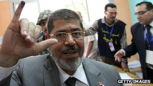 Mohammed Morsi (23 May 2012)