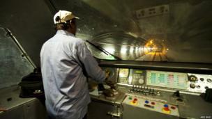 Kashmir train tunnel