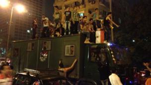 Protesters in Tahrir Square. Photo: Steve