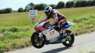 Motorcycle racer William Dunlop