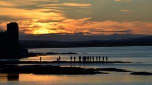 Sunset over St Andrews