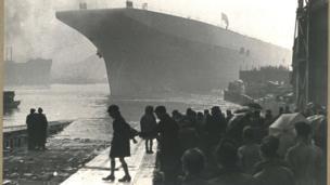 HMS Albion 1947